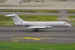 PASSENGERさんが、羽田空港で撮影したRolex SA BD-700 Global Express/5000/6000の航空フォト(写真)