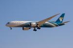 xingyeさんが、ドバイ国際空港で撮影したオマーン航空 787-9の航空フォト(写真)