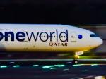 万華鏡AIRLINESさんが、成田国際空港で撮影したカタール航空 777-3DZ/ERの航空フォト(写真)
