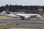 プルシアンブルーさんが、成田国際空港で撮影したLOTポーランド航空 787-8 Dreamlinerの航空フォト(写真)