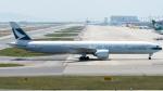 coolinsjpさんが、関西国際空港で撮影したキャセイパシフィック航空 777-367/ERの航空フォト(写真)