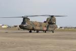 ショウさんが、明野駐屯地で撮影した陸上自衛隊 CH-47Jの航空フォト(写真)