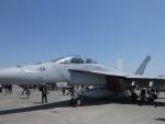 ユターさんが、厚木飛行場で撮影したアメリカ海軍 F/A-18F Super Hornetの航空フォト(写真)
