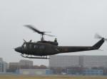 ランチパッドさんが、立川飛行場で撮影した陸上自衛隊 UH-1Jの航空フォト(写真)