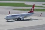pringlesさんが、ウィーン国際空港で撮影したターキッシュ・エアラインズ 737-8F2の航空フォト(写真)