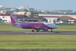 ケツメイシ宮崎~KMIさんが、宮崎空港で撮影したピーチ A320-214の航空フォト(写真)