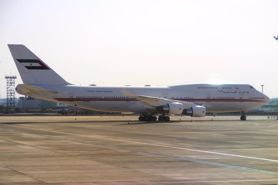 yabyanさんのドバイ・ロイヤル・エア・ウィング Boeing 747-400 (A6-HRM) 航空フォト