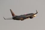 梅こぶ茶さんが、広島空港で撮影した日本航空 737-846の航空フォト(写真)