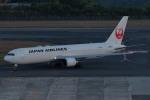 梅こぶ茶さんが、広島空港で撮影した日本航空 767-346/ERの航空フォト(写真)