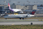 じゃまちゃんさんが、ロサンゼルス国際空港で撮影したデルタ航空 717-2BDの航空フォト(写真)