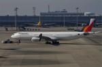 mild lifeさんが、関西国際空港で撮影したフィリピン航空 A340-313Xの航空フォト(写真)