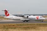 安芸あすかさんが、フランクフルト国際空港で撮影したチェコ航空 ATR-72-500 (ATR-72-212A)の航空フォト(写真)