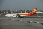 TAOTAOさんが、上海虹橋国際空港で撮影した海南航空 A330-343Xの航空フォト(写真)