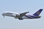 @たかひろさんが、関西国際空港で撮影したタイ国際航空 A380-841の航空フォト(写真)