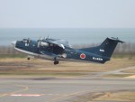 倉島さんが、新潟空港で撮影した海上自衛隊 US-2の航空フォト(写真)