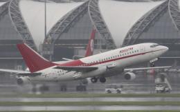 hs-tgjさんが、スワンナプーム国際空港で撮影したベスト・エア 737-2B7/Advの航空フォト(飛行機 写真・画像)