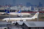 KAZKAZさんが、羽田空港で撮影したスカイ・プライム A340-212の航空フォト(写真)