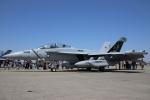 たろりんさんが、厚木飛行場で撮影したアメリカ海軍 EA-18G Growlerの航空フォト(写真)