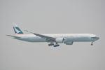 LEGACY-747さんが、香港国際空港で撮影したキャセイパシフィック航空 777-367/ERの航空フォト(写真)