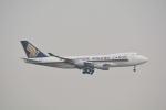 LEGACY-747さんが、香港国際空港で撮影したシンガポール航空カーゴ 747-412F/SCDの航空フォト(写真)