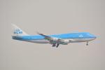 LEGACY-747さんが、香港国際空港で撮影したKLMオランダ航空 747-406Mの航空フォト(写真)
