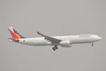 LEGACY-747さんが、香港国際空港で撮影したフィリピン航空 A330-343Xの航空フォト(写真)