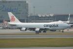 LEGACY-747さんが、香港国際空港で撮影したカーゴルクス 747-467F/SCDの航空フォト(飛行機 写真・画像)