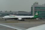 LEGACY-747さんが、香港国際空港で撮影したエバー航空 777-3AL/ERの航空フォト(飛行機 写真・画像)