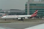 LEGACY-747さんが、香港国際空港で撮影したモーリシャス航空 A340-312の航空フォト(飛行機 写真・画像)