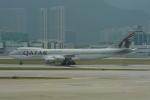 LEGACY-747さんが、香港国際空港で撮影したカタール航空カーゴ 747-87UF/SCDの航空フォト(飛行機 写真・画像)