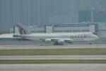 LEGACY-747さんが、香港国際空港で撮影したカタール航空カーゴ 747-87UF/SCDの航空フォト(写真)