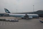 LEGACY-747さんが、香港国際空港で撮影したキャセイパシフィック航空 A330-343Xの航空フォト(写真)