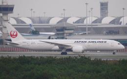 hs-tgjさんが、スワンナプーム国際空港で撮影した日本航空 787-9の航空フォト(飛行機 写真・画像)
