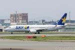 遠森一郎さんが、福岡空港で撮影したスカイマーク 737-8HXの航空フォト(写真)