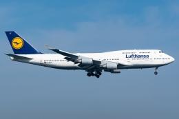 航空フォト:D-ABVT ルフトハンザドイツ航空 747-400