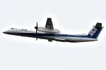 harahara555さんが、新千歳空港で撮影したANAウイングス DHC-8-402Q Dash 8の航空フォト(写真)