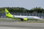 yabyanさんが、成田国際空港で撮影したジンエアー 737-8SHの航空フォト(飛行機 写真・画像)