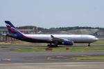 yabyanさんが、成田国際空港で撮影したアエロフロート・ロシア航空 A330-343Xの航空フォト(飛行機 写真・画像)
