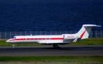 KAZKAZさんが、羽田空港で撮影したハネウェル G-V-SP Gulfstream G550の航空フォト(写真)
