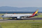 眠たいさんが、関西国際空港で撮影したアシアナ航空 A350-941XWBの航空フォト(写真)