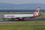 眠たいさんが、関西国際空港で撮影したエア・カナダ・ルージュ 767-33A/ERの航空フォト(写真)