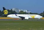 なかよし号さんが、成田国際空港で撮影したMIATモンゴル航空 737-8CXの航空フォト(写真)