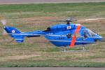 西風さんが、大館能代空港で撮影した岩手県警察 BK117C-1の航空フォト(写真)