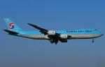 なかよし号さんが、成田国際空港で撮影した大韓航空 747-8B5F/SCDの航空フォト(写真)