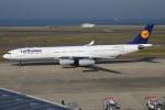 たみぃさんが、中部国際空港で撮影したルフトハンザドイツ航空 A340-313Xの航空フォト(写真)