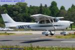 Chofu Spotter Ariaさんが、ホンダエアポートで撮影した日本個人所有 172R Skyhawkの航空フォト(写真)