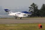 トールさんが、静岡空港で撮影したホンダ・エアクラフト・カンパニーの航空フォト(写真)