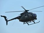 @あきやんさんが、信太山駐屯地で撮影した陸上自衛隊 OH-6Dの航空フォト(写真)