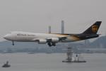 いもや太郎さんが、香港国際空港で撮影したUPS航空 747-8Fの航空フォト(写真)