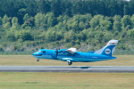 delawakaさんが、熊本空港で撮影した天草エアライン ATR-42-600の航空フォト(写真)
